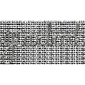 Toolbox Calendar- Metal Word Art- Yearbook