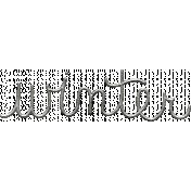 Toolbox Calendar- Metal Word Art- Winter