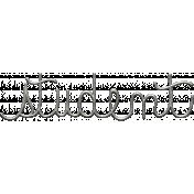 Toolbox Calendar- Metal Word Art- Student