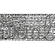 Toolbox Calendar- Metal Word Art- Trial