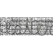 Toolbox Calendar- Metal Word Art- Easter