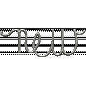Toolbox Calendar- Metal Word Art- New