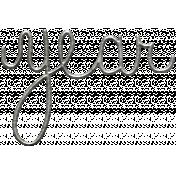 Toolbox Calendar- Metal Word Art- Year 2