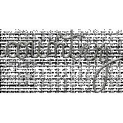Toolbox Calendar- Metal Word Art- Country