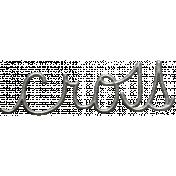 Toolbox Calendar- Metal Word Art- Cross