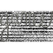Toolbox Calendar- Metal Word Art- Game