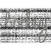 Toolbox Calendar- Metal Word Art- Hockey