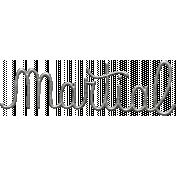 Toolbox Calendar- Metal Word Art- Martial