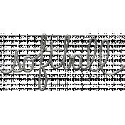 Toolbox Calendar- Metal Word Art- Softball