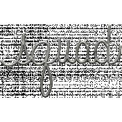 Toolbox Calendar- Metal Word Art- Squad