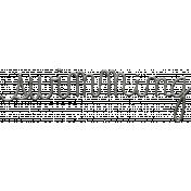 Toolbox Calendar- Metal Word Art- Swimming