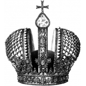 Crown Stamp Template 005