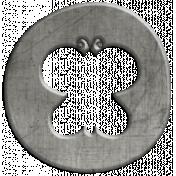Toolbox Calendar- Butterfly Doodle Coin