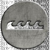 Toolbox Calendar- Waves Doodle Coin