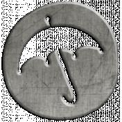 Toolbox Calendar- Umbrella Doodle Coin
