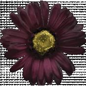 Bad Day- Purple Silk Flower