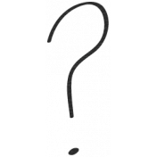 Bad Day- Question Mark Doodle