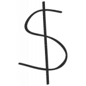 Bad Day- Dollar Sign Doodle