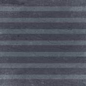 Bad Day- Gray Horizontal Stripe Paper
