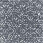 Bad Day- Gray Ornamental Paper