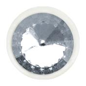 Bad Day- White & Gray Button