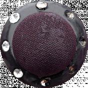 Bad Day- Dark Purple Button 3