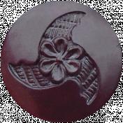 Bad Day- Dark Purple Button 4