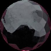 Bad Dat- Dark Purple Button 6