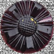 Bad Day- Dark Purple Button 5