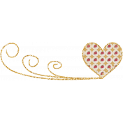 For The Love Of My Girls- Doodle Heart 3