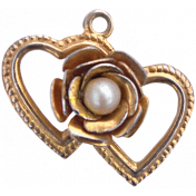 For The Love Of My Girls - Heart Charm 1
