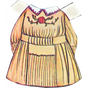 For The Love Of My Girls- Paper Doll Dress