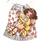 For The Love Of My Girls- Paper Doll Dress 2