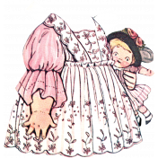 For The Love Of My Girls- Paper Doll Dress 4