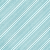 For The Love Of My Girls- Blue Stripe Paper