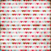 For The Love of My Girls- Hearts Paper