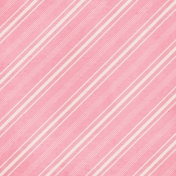 For The Love of My Girls- Pink Stripe Paper