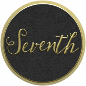 Our Special Day- Anniversary Sticker- Seventh