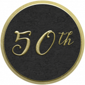 Our Special Day- Anniversary Sticker- 50th
