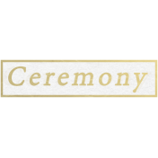 Our Special Day- Word Snippet- Ceremony