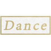 Our Special Day- Word Snippet- Dance