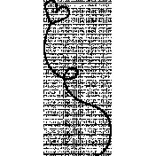 Swirl Doodle Template 012