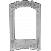 Paper Frame Template 009