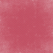 A Mother's Love- Dark Pink Dotted Paper