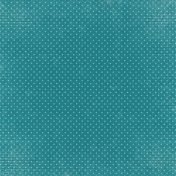 A Mother's Love- Dark Teal Dotted Paper