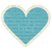 A Mother's Love- Heart 2 With Text