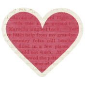 A Mother's Love- Heart 5 With Text