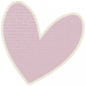 A Mother's Love- Heart Doodle 6 With Text- Pink