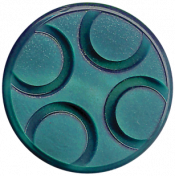 A Mother's Love- Teal Button 3