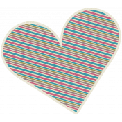 A Mother's Love- Heart Swirl Dooodle 4- Stripes